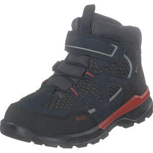 Ecco Urban Hiker Black/night Sky, Kengät, Bootsit, Vaelluskengät, Musta, Lapset, 26