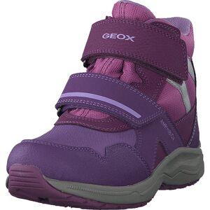 Geox J Kuray Girl B Abx Grey/lilac, Kengät, Bootsit, Vaelluskengät, Violetti, Lapset, 29