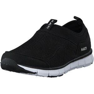 Halti Lente Jr Leisure Shoe Black, Kengät, Tennarit ja Urheilukengät, Urheilukengät, Musta, Lapset, 33