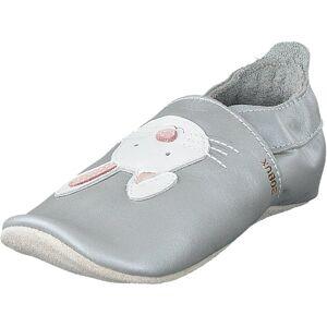 Bobux Rabbit Silver, Kengät, Matalat kengät, Maryjane-kengät, Sininen, Harmaa, Hopea, Lapset, 16
