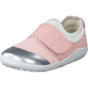 Bobux Dimension Ii Seashell + Silver, Kengät, Tennarit ja Urheilukengät, Sneakerit, Vaaleanpunainen, Hopea, Lapset, 24