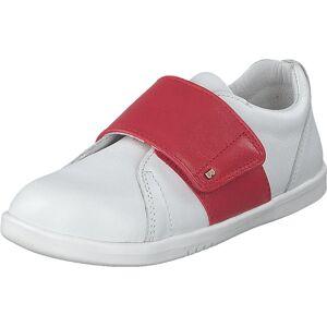 Bobux Boston White + Red, Kengät, Tennarit ja Urheilukengät, Sneakerit, Vaaleanpunainen, Valkoinen, Lapset, 29