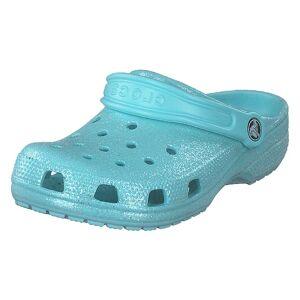 Crocs Classic Glitter Clog K Ice Blue, Lapset, Kengät, Turkoosi, EU 20/21