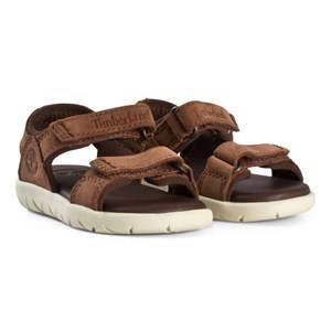 Timberland Nubble Sandals Leather in Cappuccino Lasten kengt 34 (US 2)