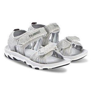 Hummel Glitter Jr Sandals Silver Lasten kengt 31 EU