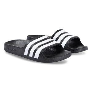 adidas Performance Adilette Aqua Slide Sandals Black Lasten kengt 36 2/3 (UK 4)