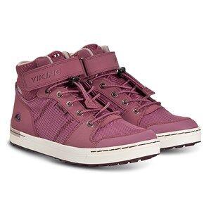 Viking Tonsen Mid GTX Shoes Dark Pink and Violet Lasten kengt 38 EU