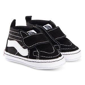 Vans Sk8-Hi Crib Shoes Black Lasten kengt 19 (UK 3.5, US 4)