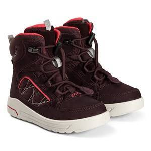 ECCO Urban Snowboarder Boots Fig and Teaberry Hiking boots