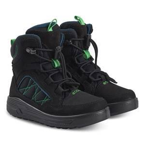 ECCO Urban Snowboarder Boots Black and Poseidon Hiking boots