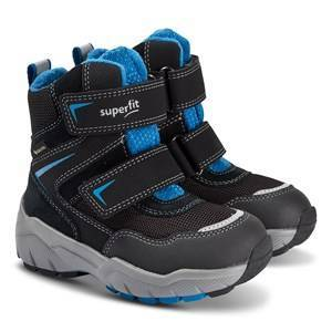Superfit Culusuk Boots Black and Blue Snow boots