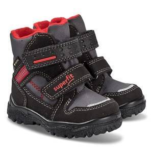 Superfit Husky Boots Black and Red Snow boots