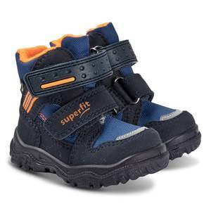 Superfit Husky Boots Navy and Orange Snow boots