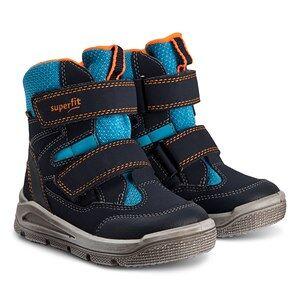 Superfit Mars Snow Boots Blue/Orange Estate