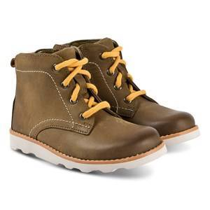 Clarks Crown Hike Boots Tan Leather Hiking boots