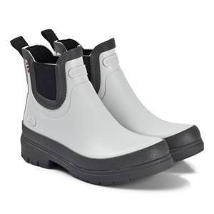 Viking Ada Rain Chelsea Boots Grey Wellingtons