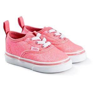 Vans Authentic Infants Sneakers Neon Glitter Pink/True White Lasten kengt 21 (UK 4.5, US 5)