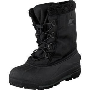 Sorel Youth Cumberland 010 Black, Sko, Boots, Varmforet boots, Svart, Barn, 32