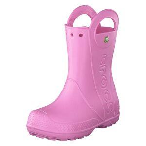 Crocs Handle It Rain Boot Kids Carnation, Barn, Shoes, rosa, EU 33/34
