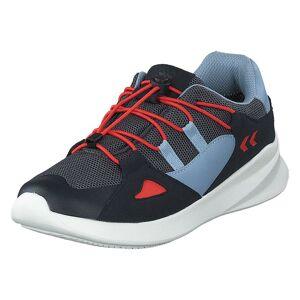 Hummel Bounce Runner Tex Jr Asphalt, Barn, shoes, blå, EU 31