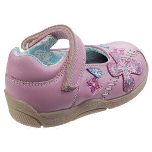 Hush Puppies Hush valper Childrens/jenter Millie Touch festing skinnsko Rosa 10 Toddler UK