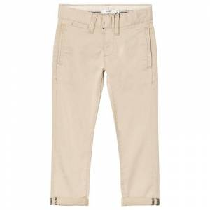 Name It Robin Twianders Cropped Chino White Pepper 146 cm