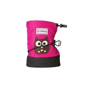 Stonz Bootie Owl/Fuchsia