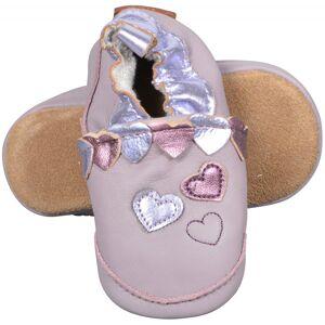 Melton, Leather shoe Hearts, Quail