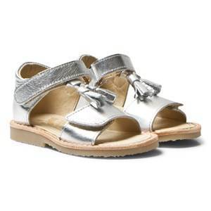 Young Soles Flo Sandals Silver 31 (UK 12.5)