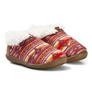 Toms Brown Twill Sunset Slippers 27 EU