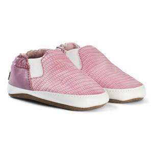 Melton Slip-On Leather Shoes Polignac 0-6M 16-19