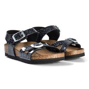 Birkenstock Rio Magic Snake Black Sandals 25 EU
