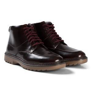 Clarks Asher Street Boots Red Patent 37 (UK 4)