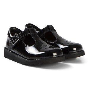 Clarks Crown Wish Shoes Black Patent 28.5 (UK 10.5)