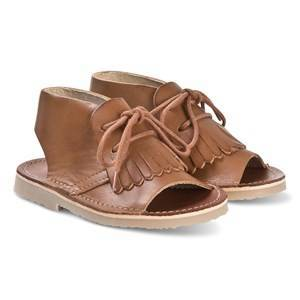 Young Soles Tan Agnes Boot Sandals 21 (UK 4.5)