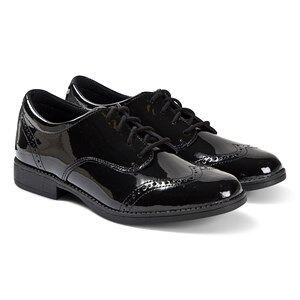 Clarks Sami Walk Brogues Black Patent 35.5 (UK 3)