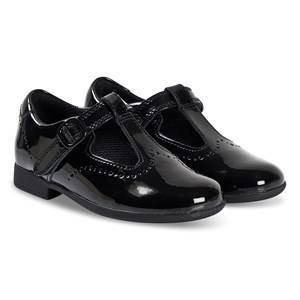 Clarks Scala Seek T-Bar Shoes Black Patent 27.5 (UK 9.5)