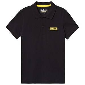 Barbour International Essential Branded Polo Black M (8-9 years)