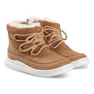 Clarks Cloud Alpine Lace Up Boots Tan 31 (UK 12.5)