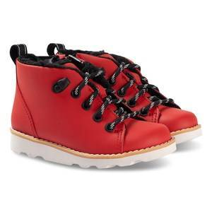 Clarks Crown Tor Boots Red Leather 28.5 (UK 10.5)