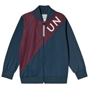 Unauthorized Hjalmar Track Jacket Orient Blue 116 cm (5-6 r)