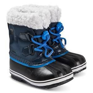 Sorel Childrens Yoot Pac Snow Boots Collegiate Navy/Super Blue 29 (UK 11)