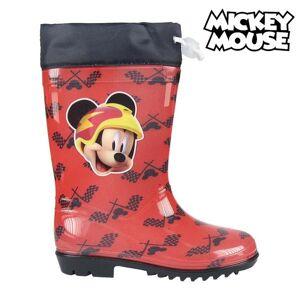 Mickey Mouse Vattenstövlar till barn Mickey Mouse 73486 Röd - 24