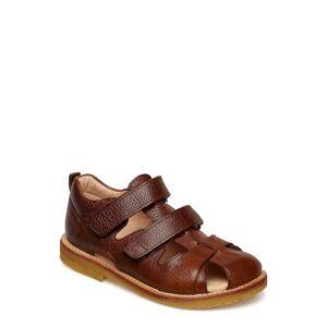 ANGULUS Sandals - Flat - Closed Toe - Sandaler Brun ANGULUS