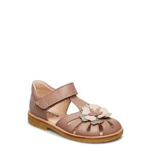 ANGULUS Sandals - Flat - Closed Toe - Sandaler Beige ANGULUS