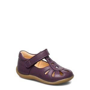 ANGULUS Sandals - Flat - Closed Toe - Shoes Pre Walkers Beginner Shoes 18-25 Lila ANGULUS