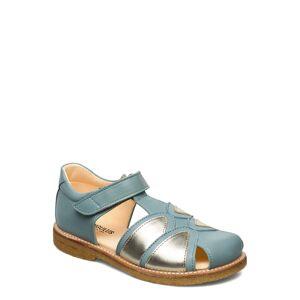 ANGULUS Sandals - Flat - Closed Toe - Sandaler Blå ANGULUS