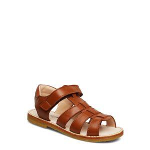 ANGULUS Sandals - Flat - Open Toe - Op Sandaler Brun ANGULUS
