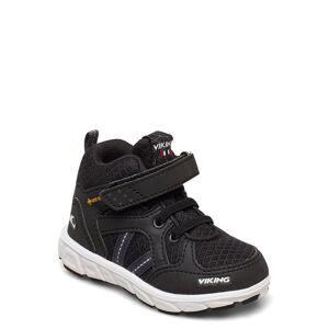 Viking Alvdal Mid R Gtx Sneakers Skor Svart Viking