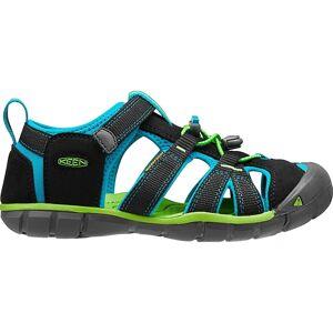 Keen - Seacamp II CNX children's outdoor sandals (black/ljusblå) - EU 36 - US 4